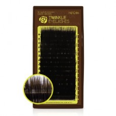 Twinkle Lashes Dark Brown A-Curl 0.15