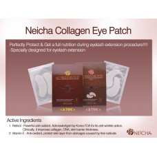 Lint free eye gel patch